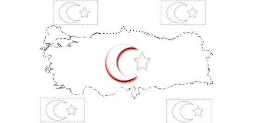 turk-bayragi-boyama-kagidi-calismasi